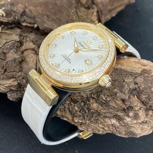 Omega De Ville Ladymatic 18 K Gold Brillanten Co-Axial 34mm Ref. 42568342055002