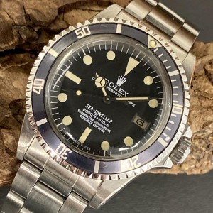 Rolex Sea-Dweller Vintage - Rail Dial -  FULL SET Ref. 1665