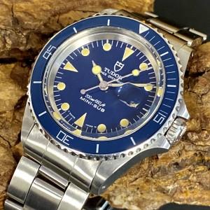 Tudor Prince Oysterdate Mini-Sub - Blue - Fullset Ref. 94400