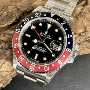 Rolex GMT-Master II - Fat Lady - No Date Dial -  Ref. 16760
