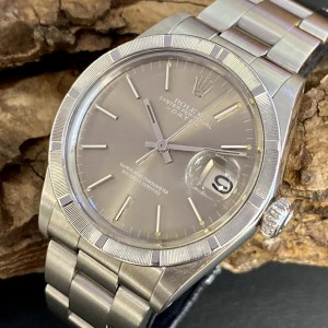 """Rolex Date Vintage 36 """"Sigma-Dial - O T SWISS T O"""" Ref. 1501"""