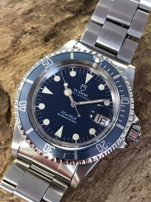 Tudor Submariner Lollipop Blue - Fullset Ref. 76100