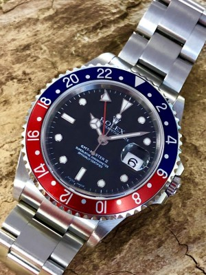 Rolex Oyster Perpetual GMT-Master II Ref. 16710 Full-Set