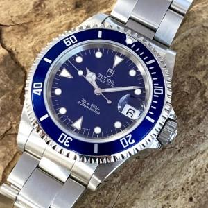 Tudor Prince Date Submariner Blau Reff. 79190