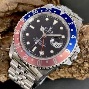 Rolex GMT-Master - Pink Lady - Jubilee - Fullset - Unpoliert  Ref. 16700