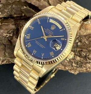 Rolex Oyster Perpetual Day-Date mit Box und Papieren Ref. 18038