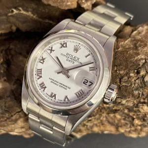 Rolex Oyster Perpetual Date Lady Edelstahl Ref. 79160