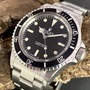 Rolex Submariner -  Maxi V - Box Papieren - Ref. 5513