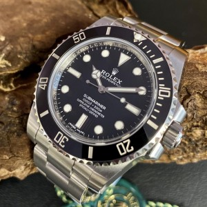 Rolex Oyster Perpetual Submariner VERKLEBT Ref. 114060