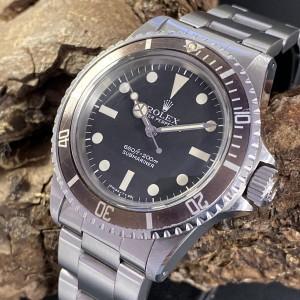 Rolex Submariner no Date Tropical Ref. 5513