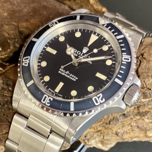 Rolex Oyster Perpetual Submariner Vintage - Non Serif  Ref. 5513