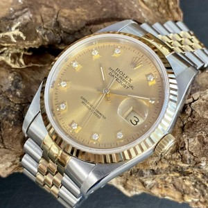 Rolex Oyster Perpetual Datejust 36 FULL SET  Ref. 16233