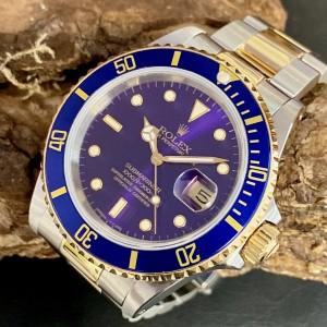 Rolex Submariner Date  - FULL SET - Purple Ref. 16613