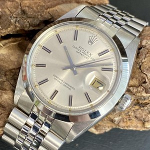 Rolex Oyster Perpetual Datejust 36 - Sigma Dial -  Ref. 1600