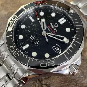 Omega Seamaster Diver 300M 007 James Bond Edition FULL SET Ref. 21230412001005