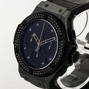 Hublot Big Bang All Black Keramik Diamantenlünette Ref. 341.CX.1210.VR.1100