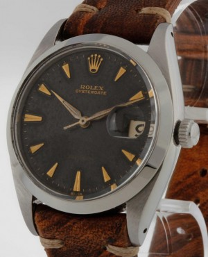 Rolex Oysterdate Precision Tropical Gilt Ref.6694