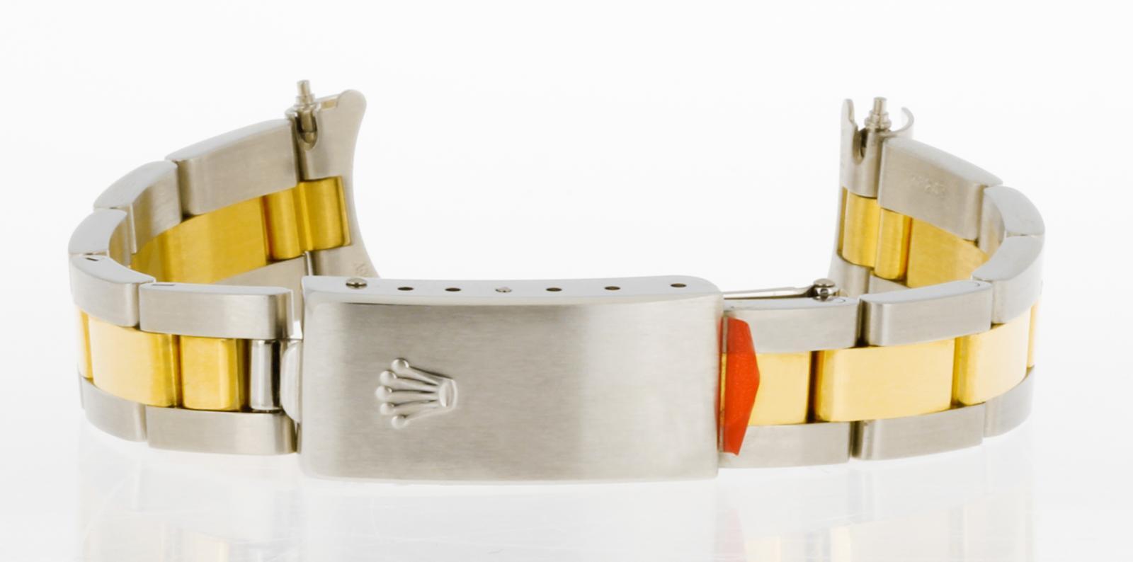 Rolex 13mm Oysterband Stahl+18kt Gelbgold Ref. 78243