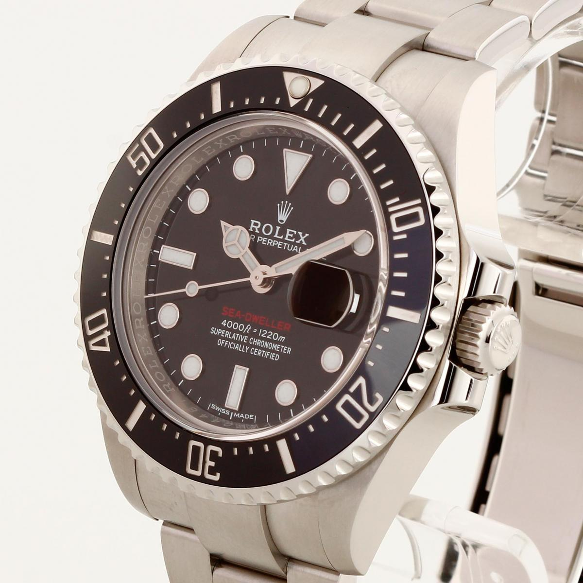 Rolex Sea Dweller Red Ref 126600