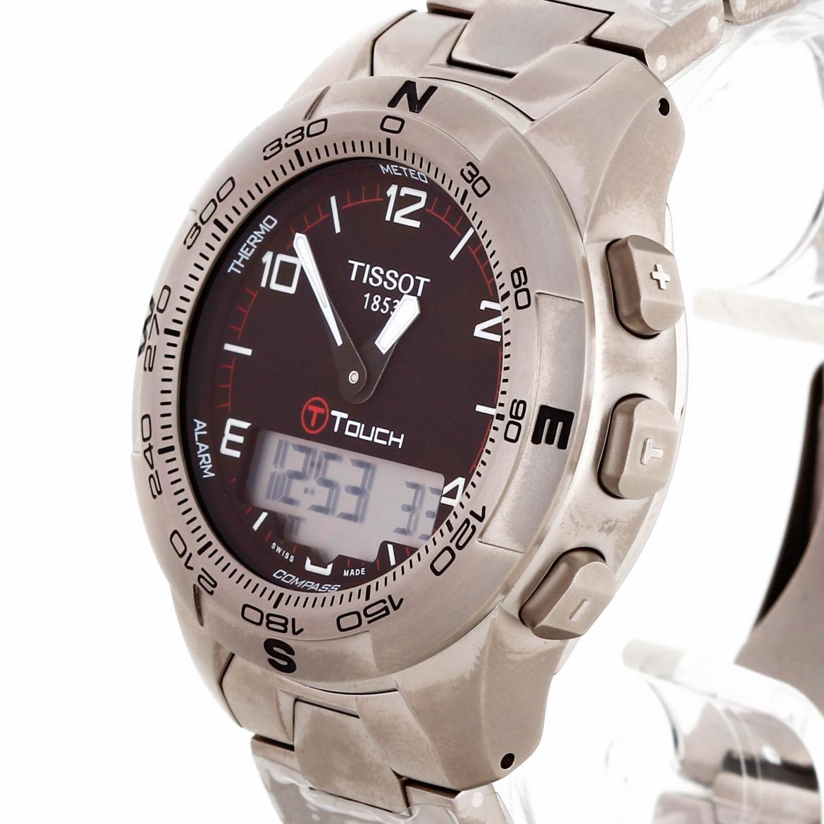 Tissot T-Touch II Titan Edelstahl Ref. T047.420.44.057.00