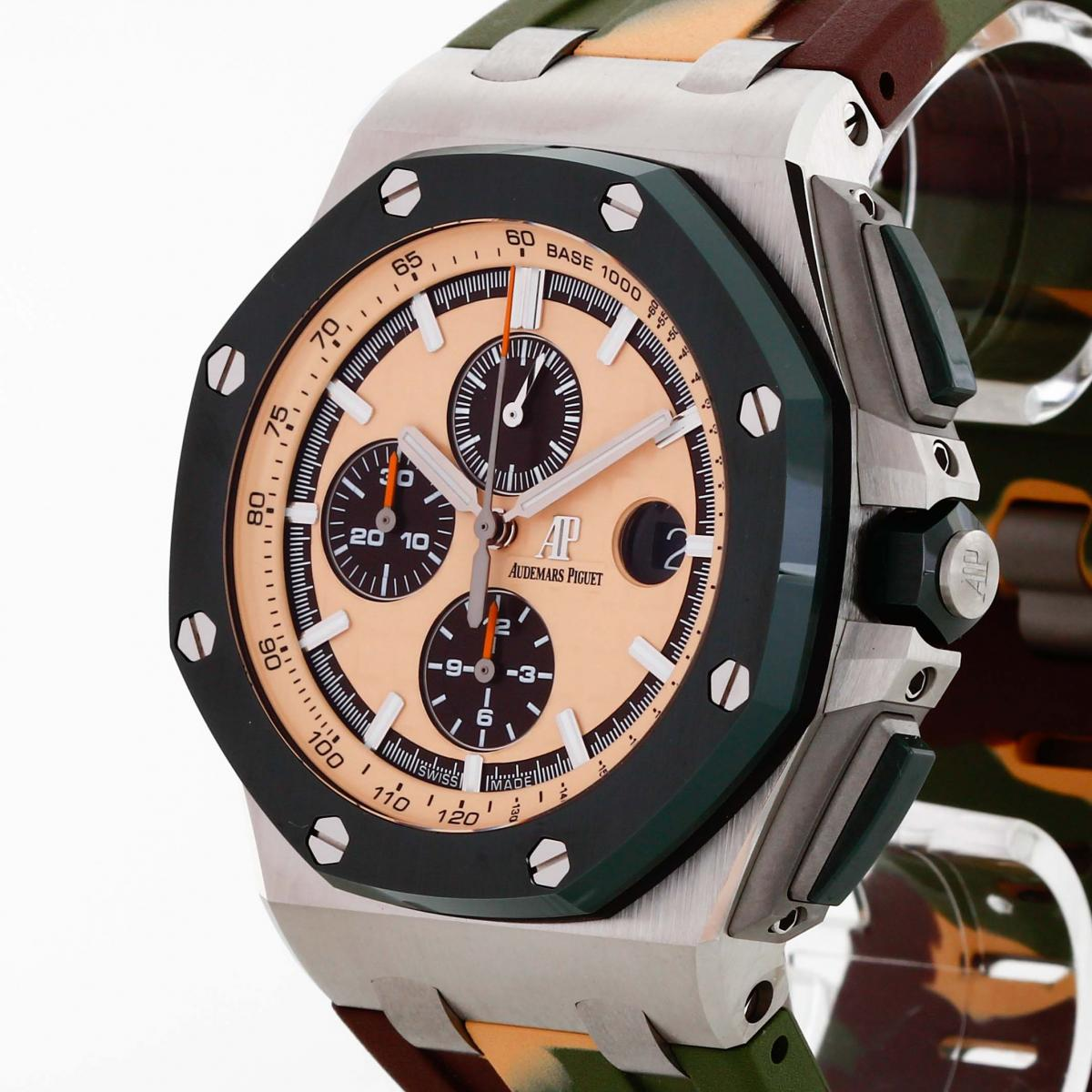685f0ebf96f Audemars Piguet Royal Oak Offshore Camouflage Chronograph 44mm Ref.  26400SO.OO.A054CA.01-183600