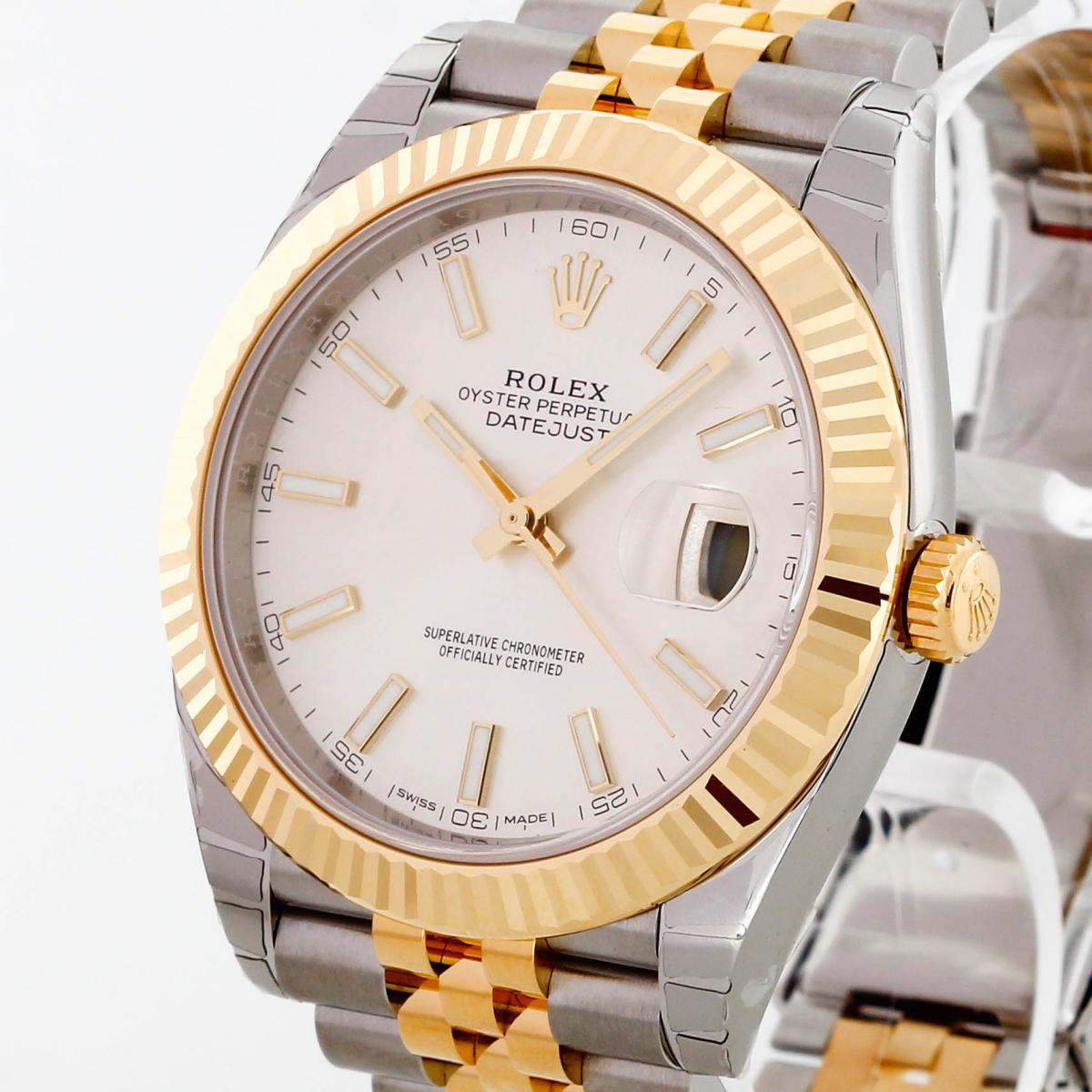 Rolex Oyster Perpetual Datejust 41 Edelstahl/18 K Gold 2018 Ref. 126333