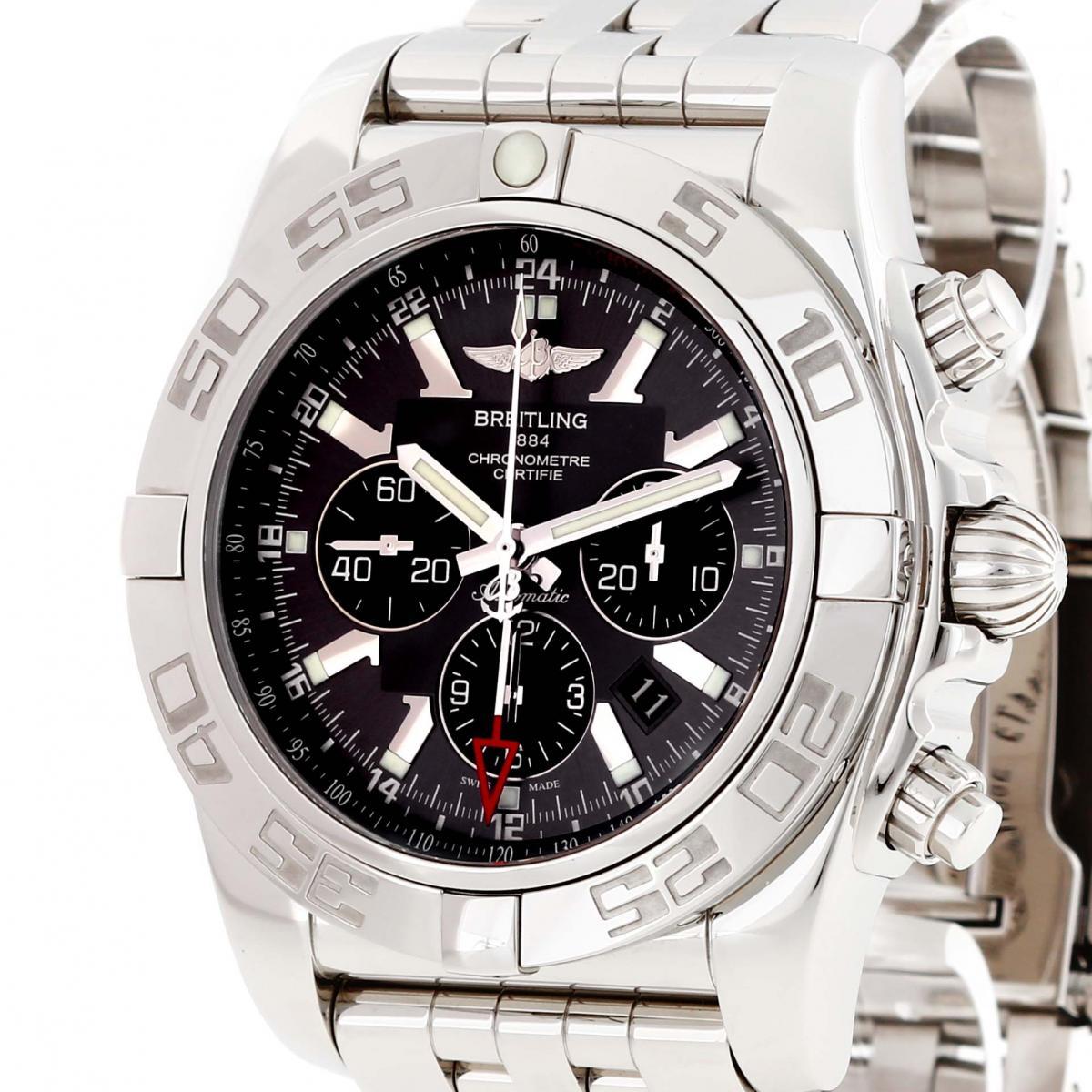 Breitling Chronomat GMT 47 Chronograph Edelstahl Ref. AB041012/F556