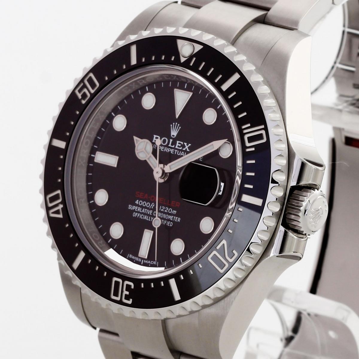 Rolex Oyster Perpetual Date Sea Dweller Red Ref 126600 Eu 2018