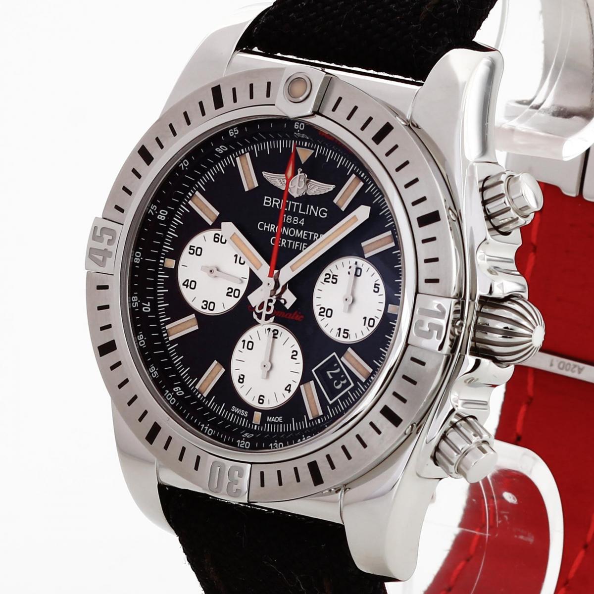 Breitling Chronomat 44 Airborne Edelstahl Ref. AB01154G/BD13/101W