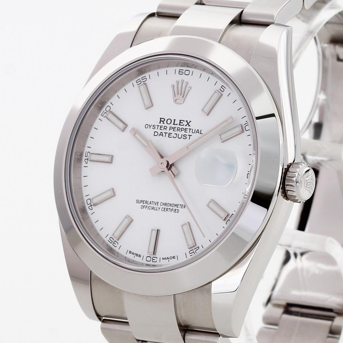 Rolex Oyster Perpetual Datejust II Edelstahl Ref. 126300 LC100 Fullset 2018