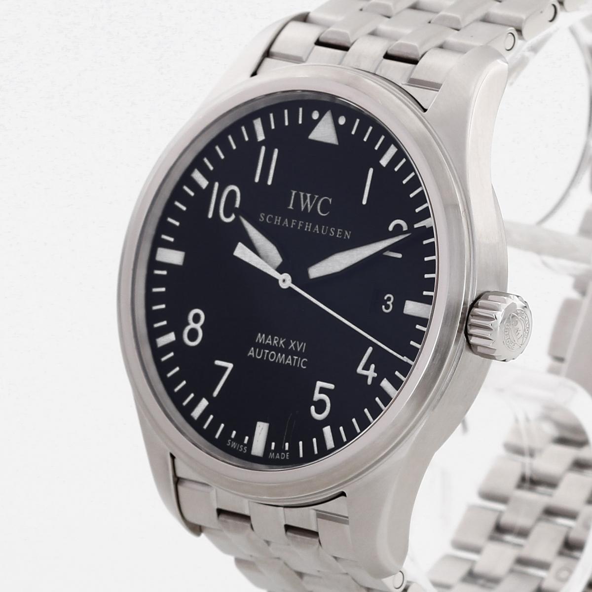 IWC Mark XVI Edelstahl Ref.IW325504 Fullset 2012