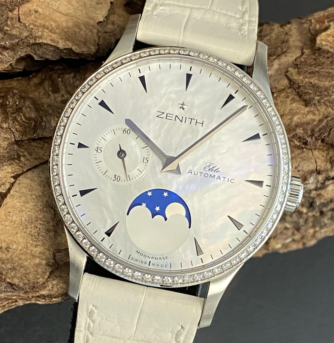 Zenith Lady with diamonds Ref. 03.1125.691/02.C490