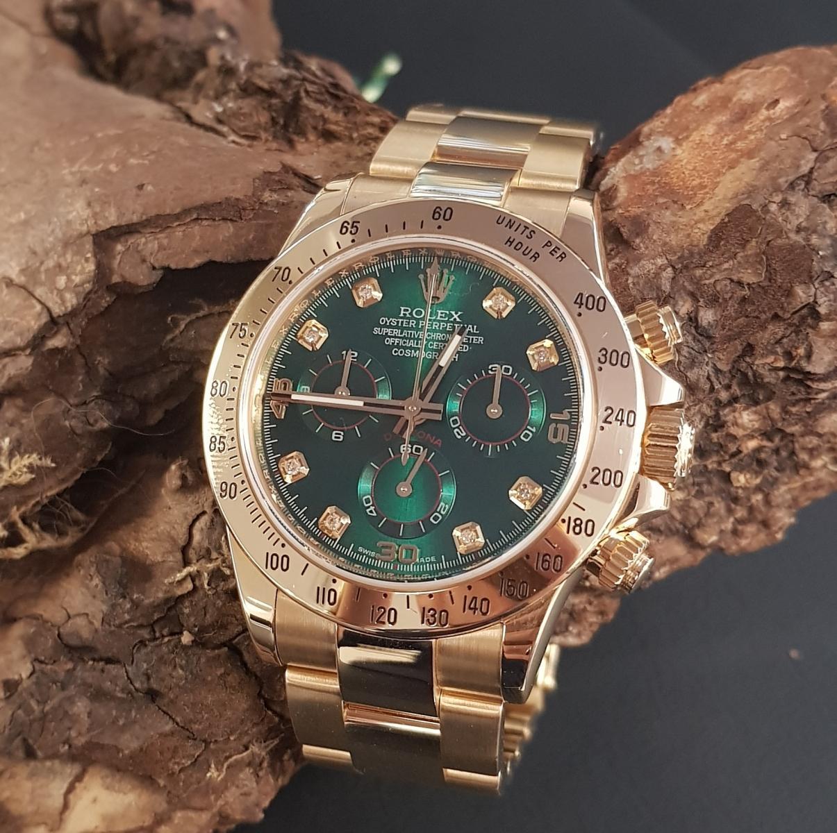Rolex Daytona Green Ref. 116528