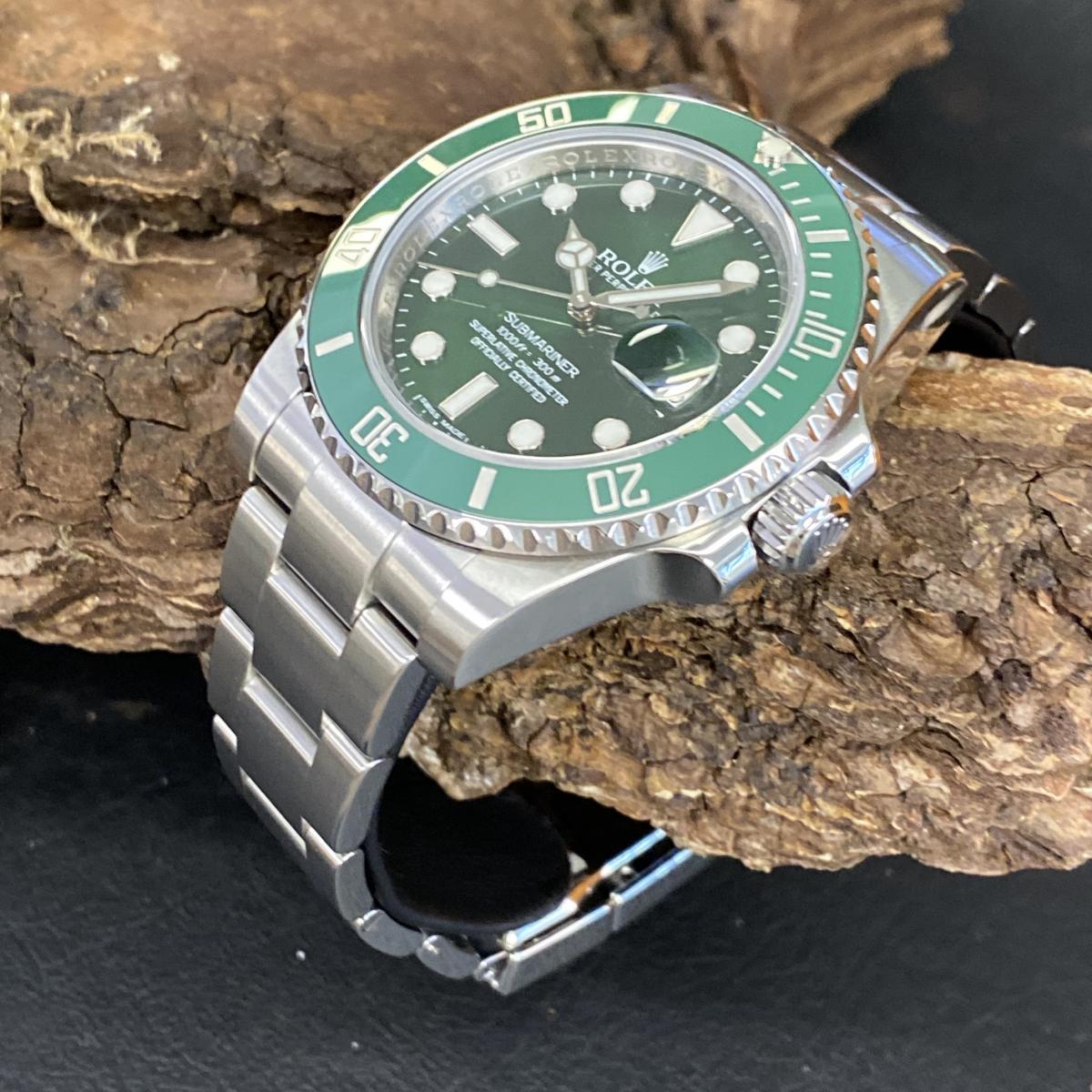 "Rolex Oyster Perpetual Submariner Date ""Hulk"" Ref. 116610LV"