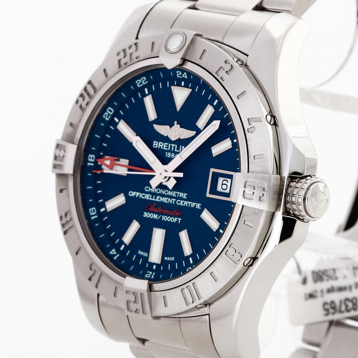promo code 845c3 b5a4d Breitling Avenger II GMT stainless steel Ref. A3239011 / C872