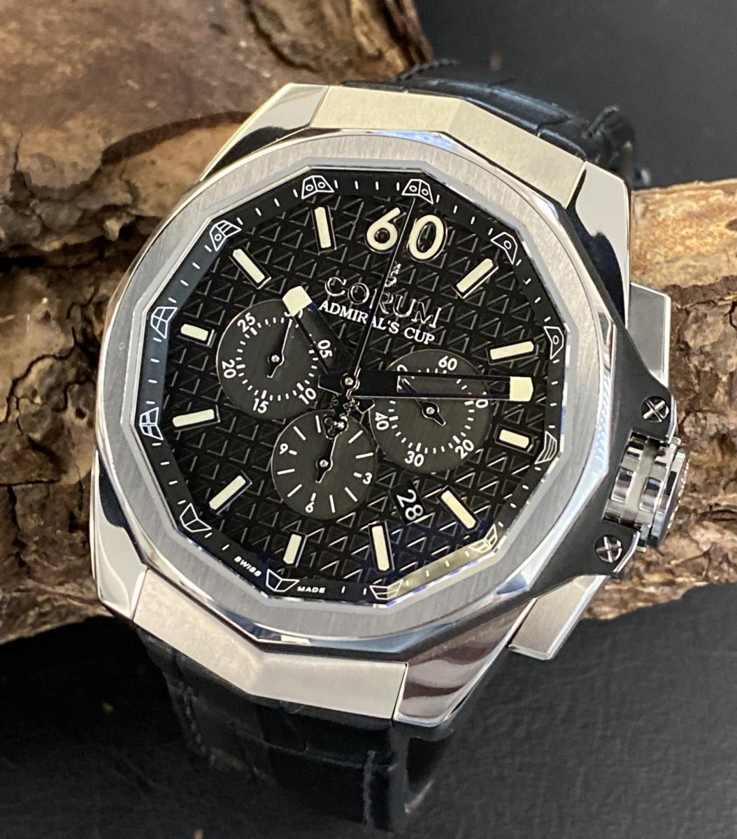 Corum Admirals Cup AC-One FULL SET Ref. 132.201.04/0F01AN10