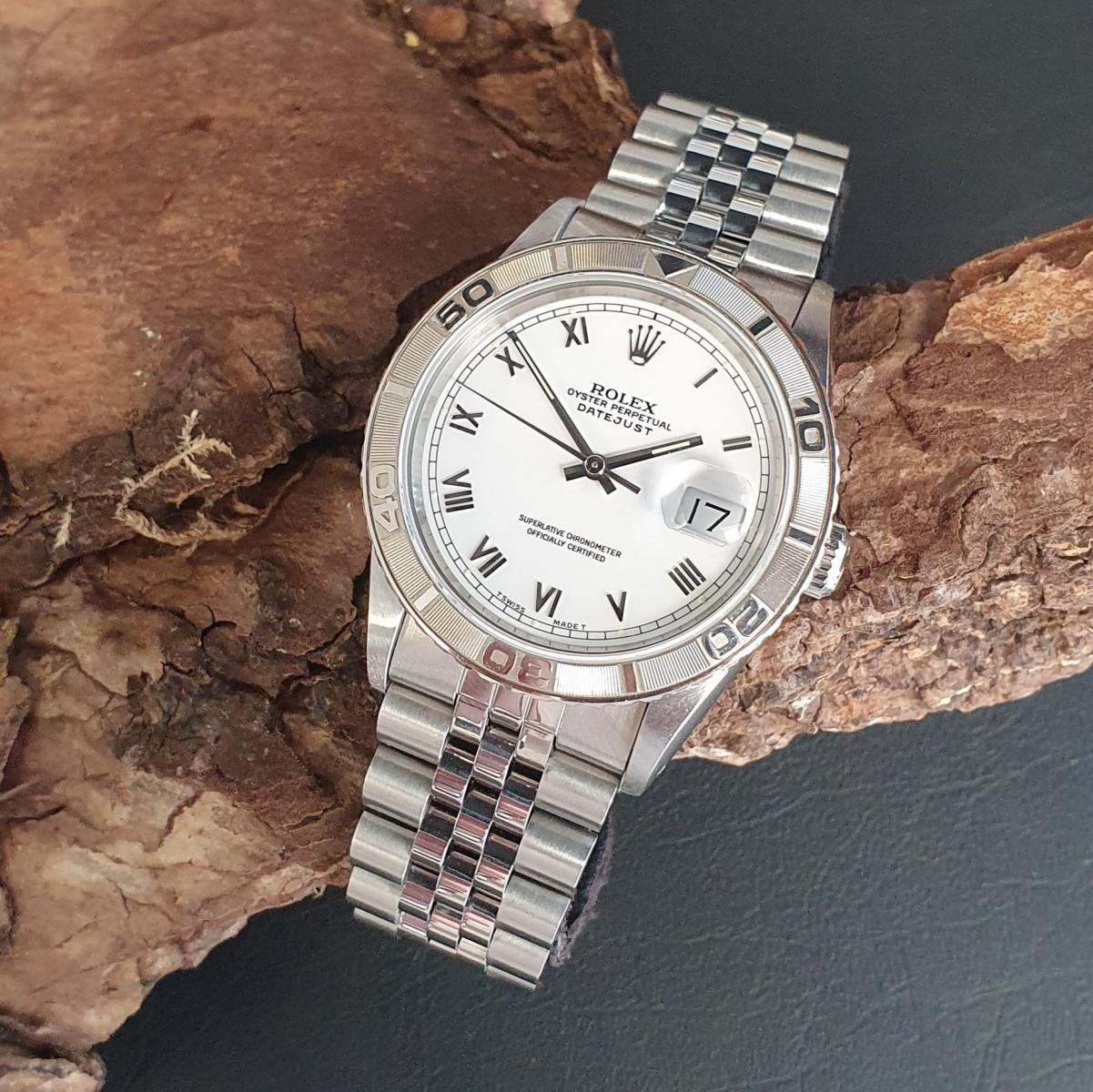 Rolex Datejust 36mm Turn-O-Graph Ref. 16264