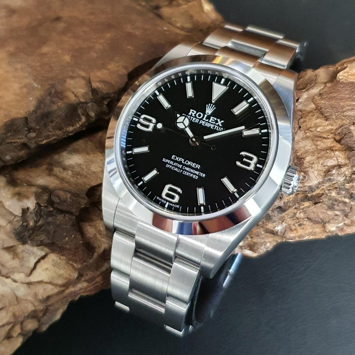 Rolex Explorer I FULL SET Ref. 214270