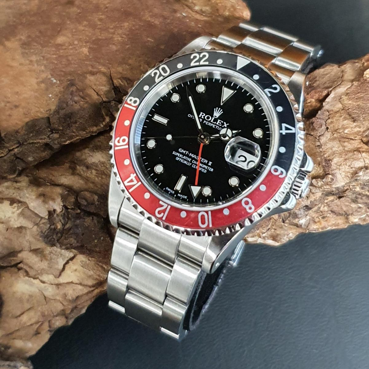 Rolex GMT-Master II COKE FULL SET Ref. 16710
