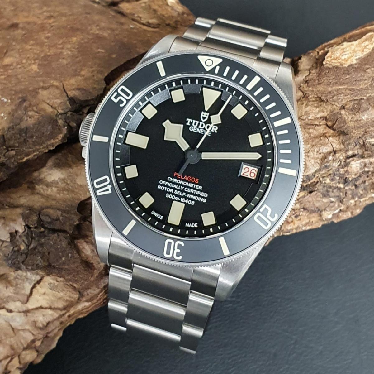 Tudor Pelagos Titan Left Handed FULL SET Ref. 25610TNL