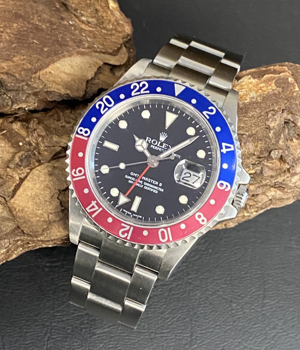 Rolex GMT-Master II Pepsi FULL SET Ref. 16710