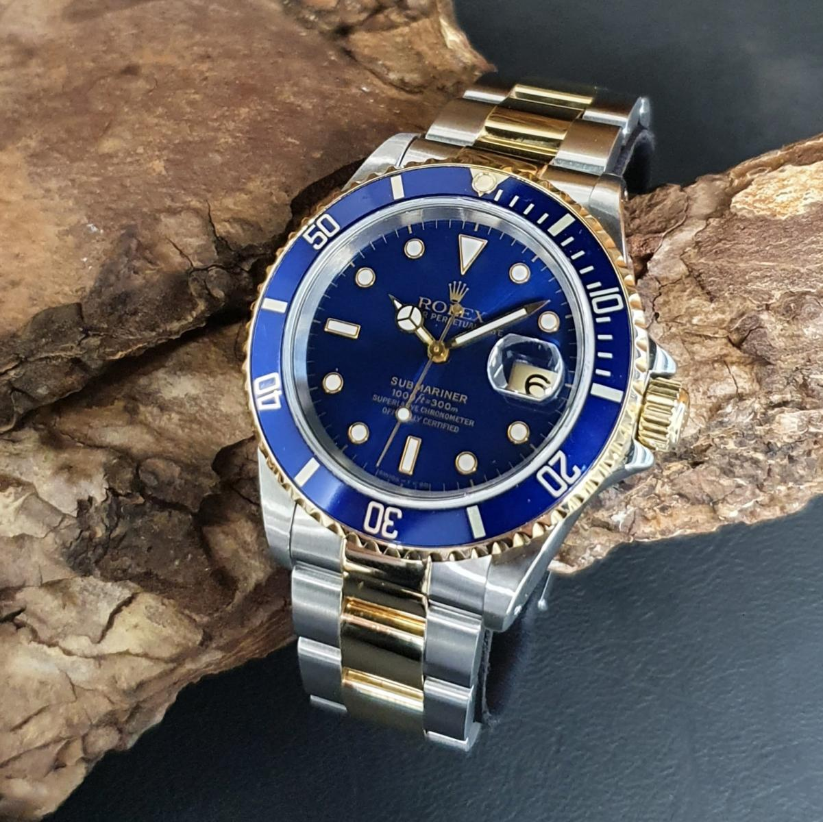 Rolex Submariner Date TRITIUM FULL SET Ref. 16613