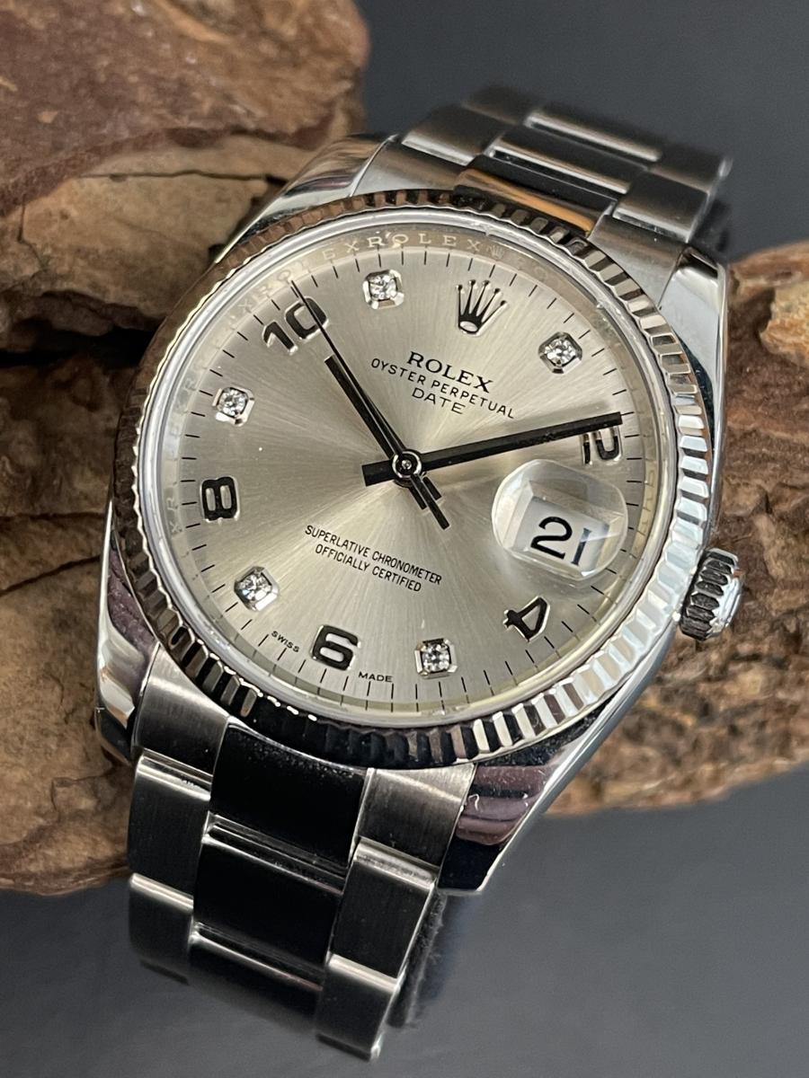 Rolex Date Dia 34mm FULL SET Ref. 115234