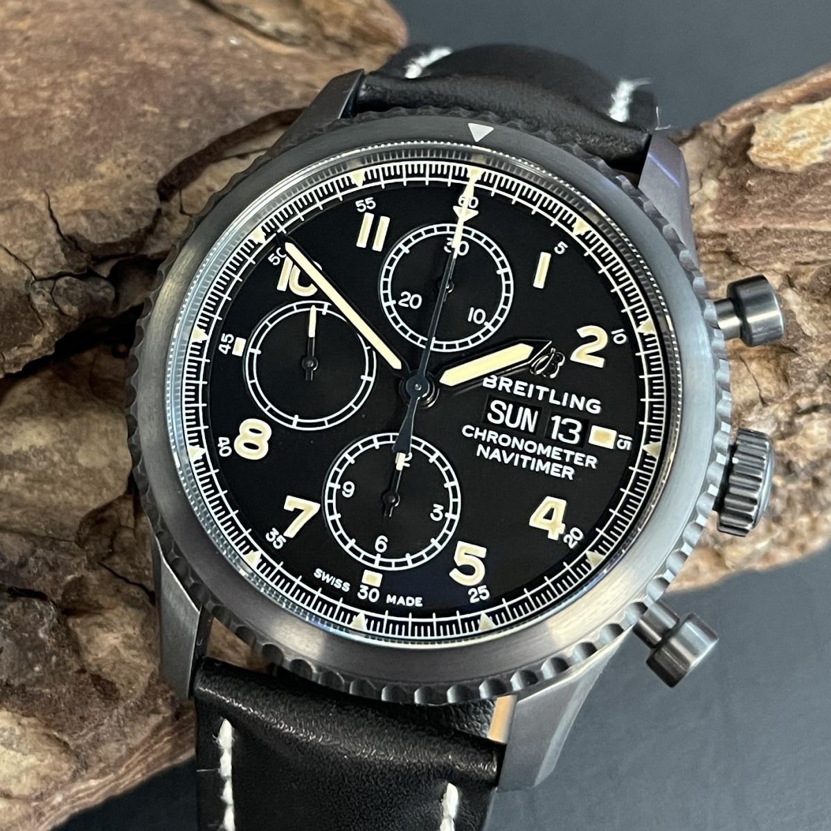 Breitling Navitimer Black FULL SET Ref. M13314101B1X1